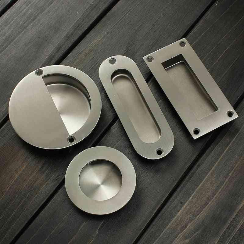 Stainless Steel Flush/recessed Pull Door Handle