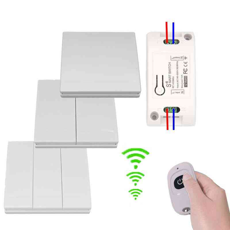 433mhz Universal Wireless, Multi Switches Remote Control For Led/light/fan Lamp