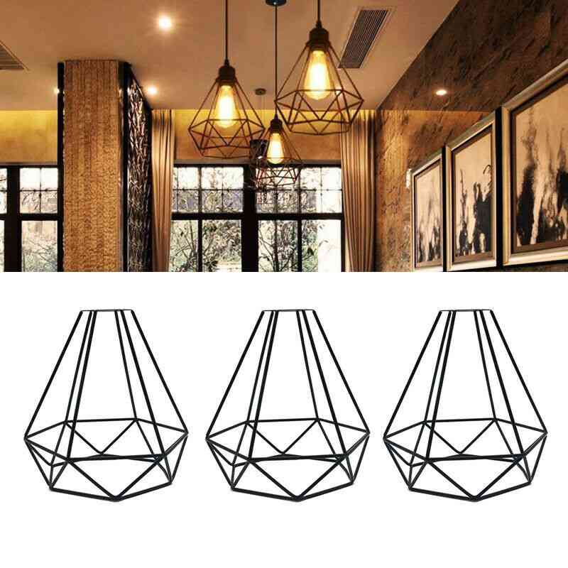 New Lampshade Only Retro Edison Metal Wire Cage , Lamp Cover