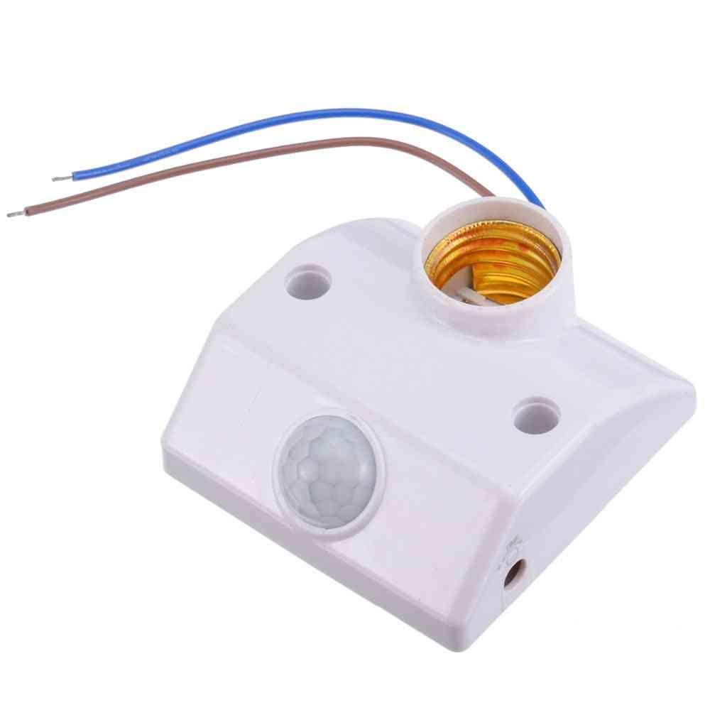 E27 Pir Infrared Motion Sensor Led, Light Lamp Holder