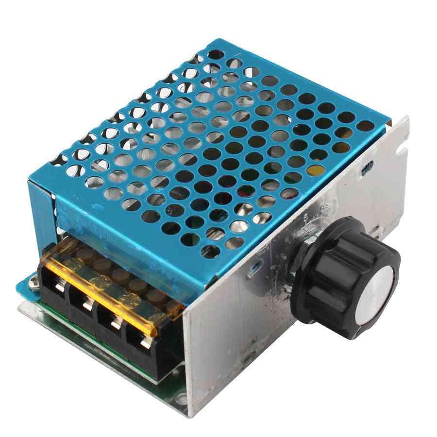 4000w 220v Ac Scr Voltage Regulator Dimmer,  Electric Motor Speed Controller