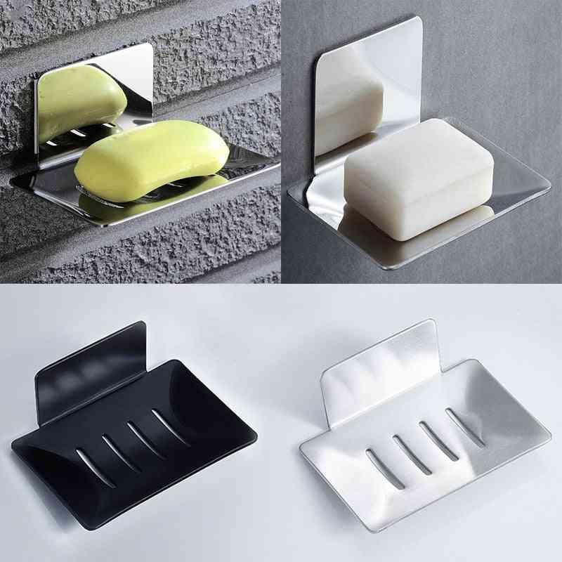 Stainless Steel  Shower Soap Box -holder Case
