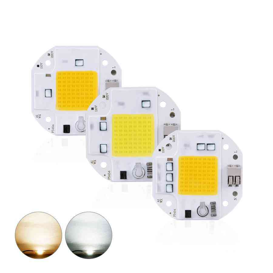 High Power Led Chip - Welding Free Diode For Spotlight / Floodlight Smart Ic