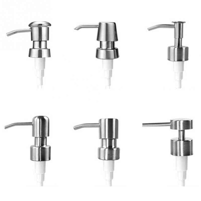 6-types, Stainless Steel Liquid Lotion Dispenser Pump And Extension Tube
