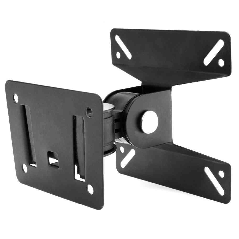 Tv Wall Mount Bracket - Support 180 Degrees Rotation For 14-27 Inch Lcd / Led Flat Panel Tv Stand