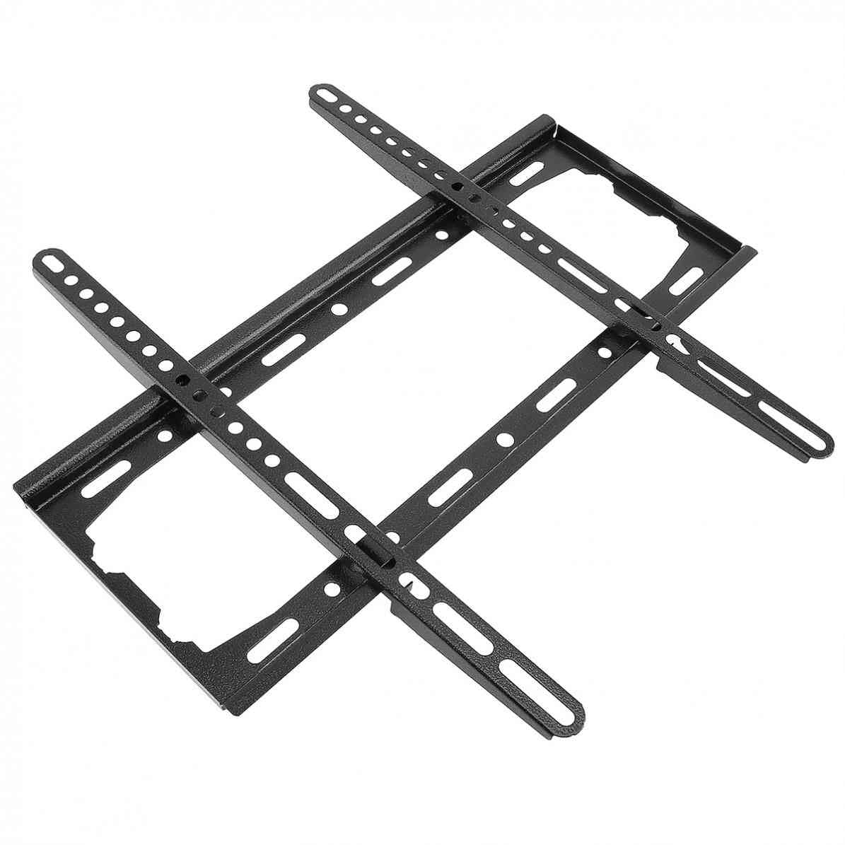 Universal Wall Mount Tv Bracket, Fixed Flat Panel For 26-55 Inch Lcd/led Monitor