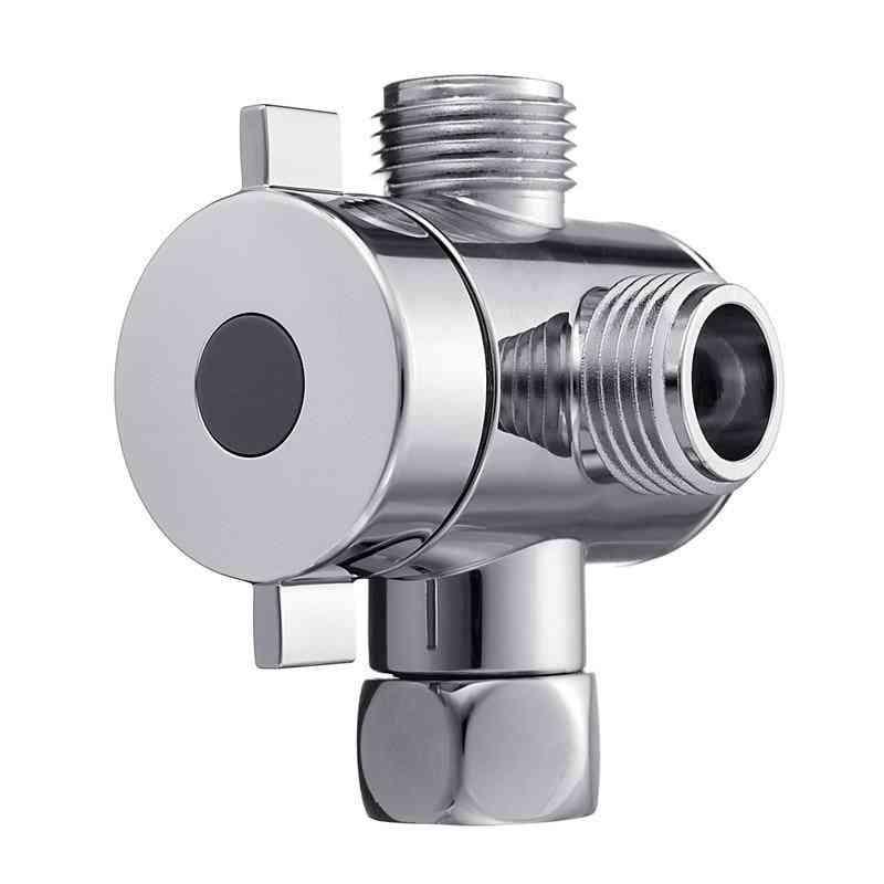 Multifunction 3-way Shower Head Diverter Valve For Toilet Bidet