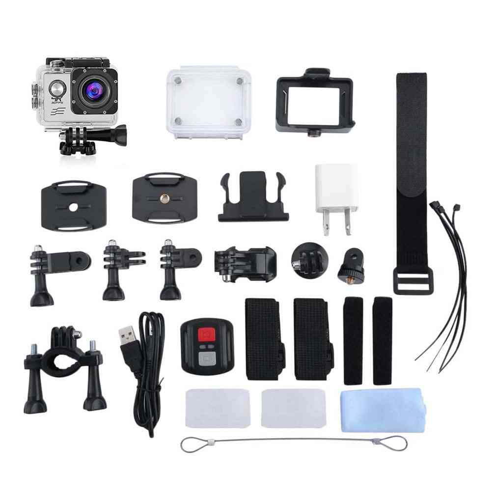 4k Wifi Action Camera Set With Remote Control