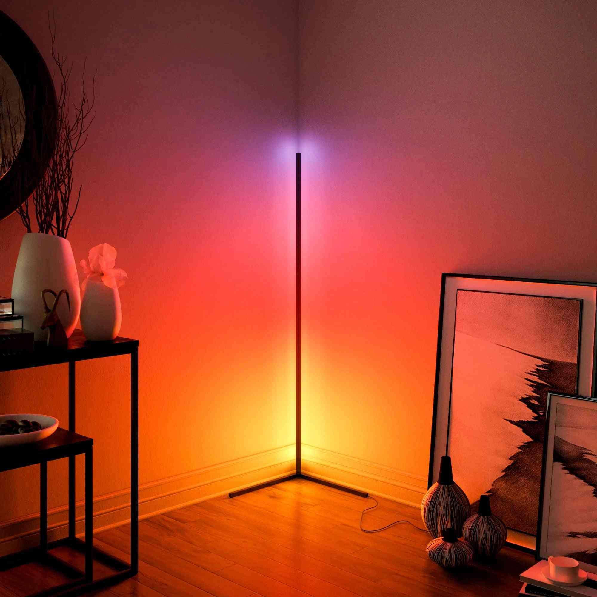 Modern Led Corner Floor Lamps - Atmosphere Light
