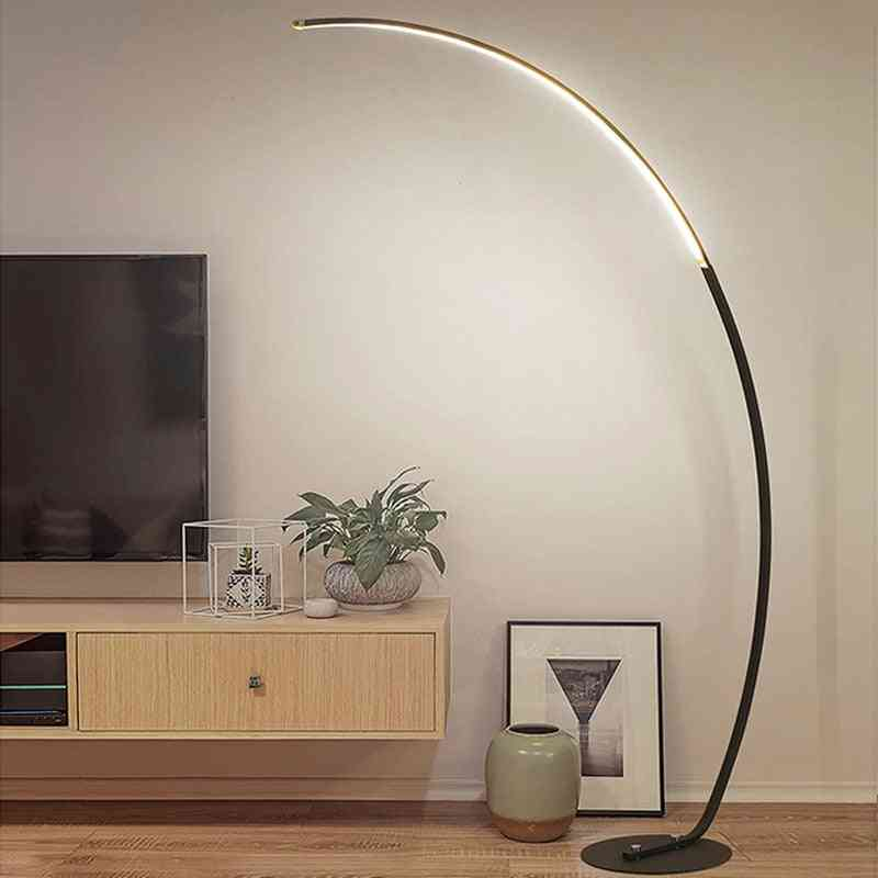 Led Modern, Standing Floor Lamp-dimmiable With Controller