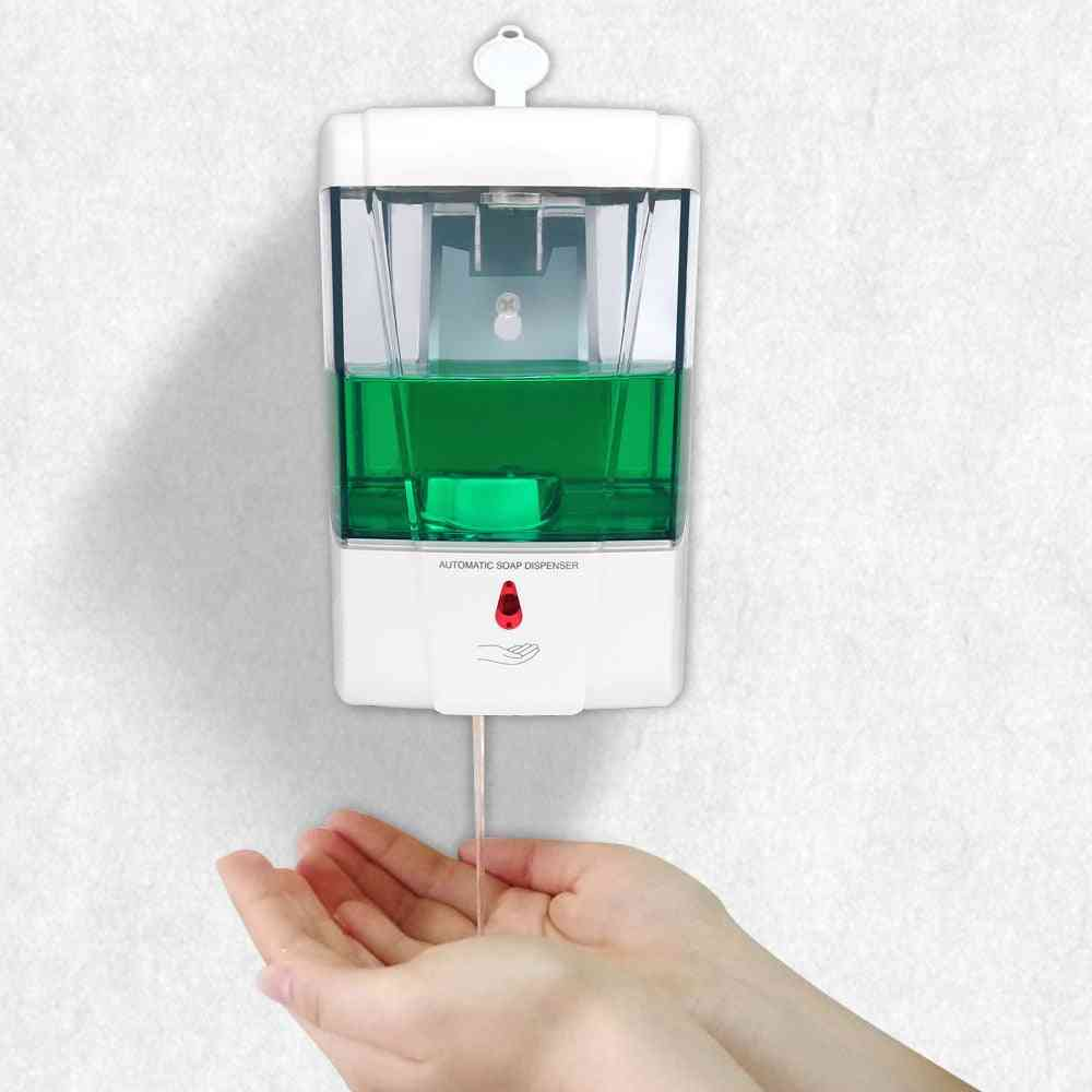 700ml Capacity Automatic Soap Dispenser - Wall Mounted Hand Sanitizer