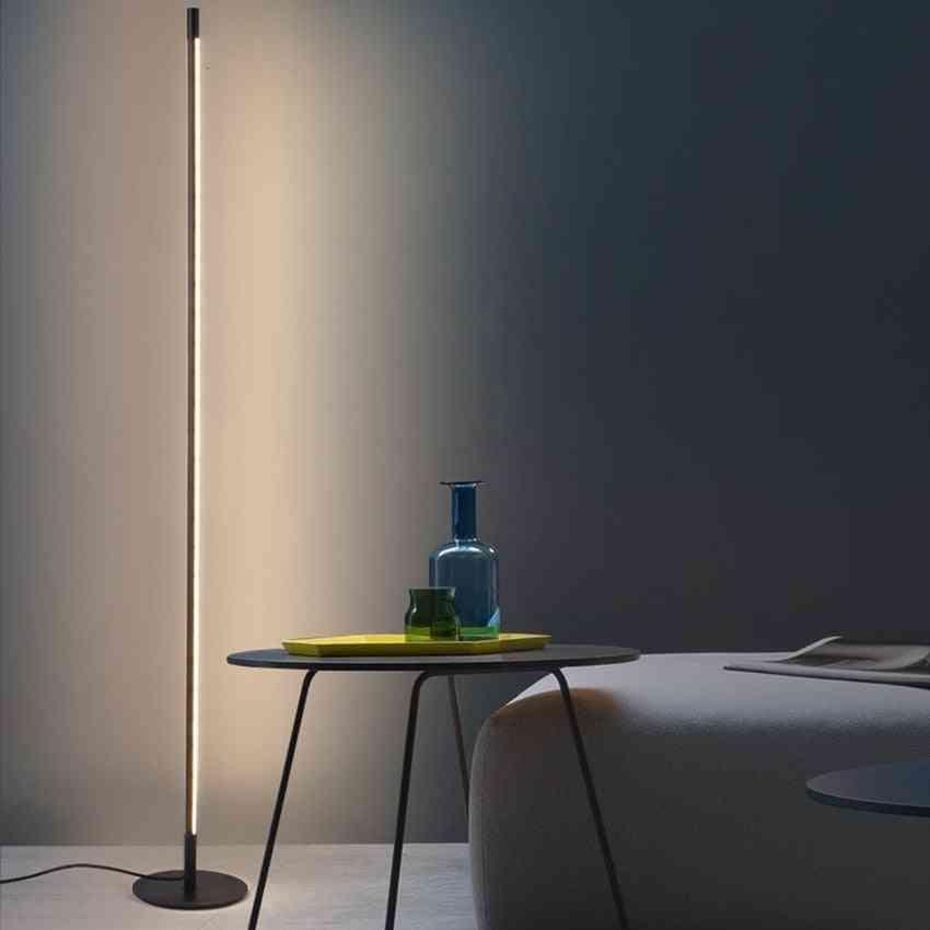 Modern Minimalist, Floor Led Lamp-dimmable Nordic Lights