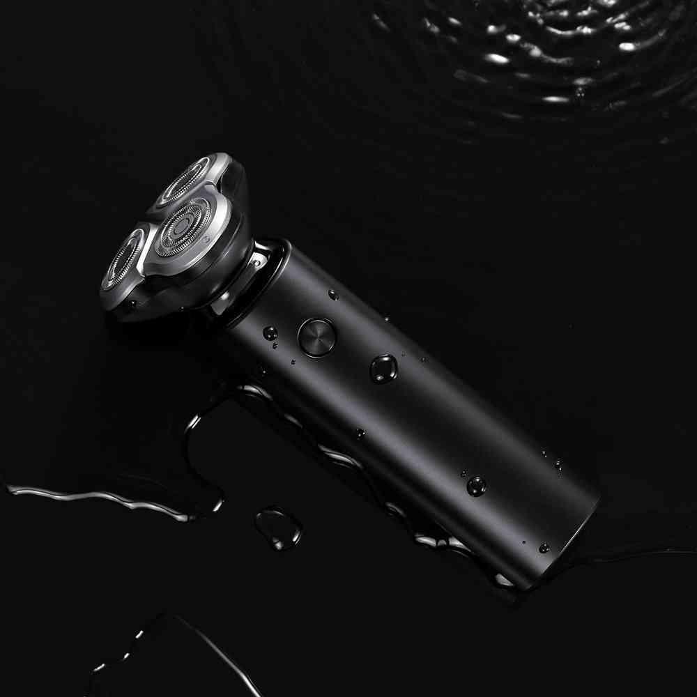 Portable Flex Razor - 3 Head Dry Wet Shaving Washable Electric Shaver