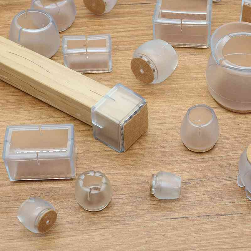 Assorted Round /square /rectangle Shaped-silicone Floor Protector Table/ Chair Leg Caps
