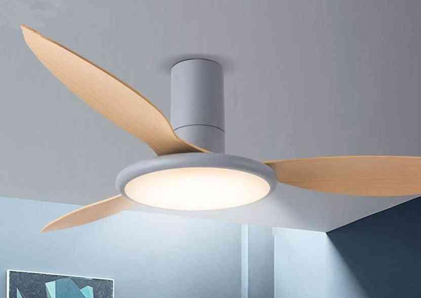Nordic Minimalist Bing Vision Design Fan Lamp