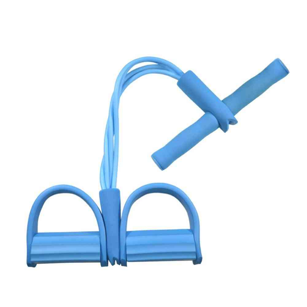 Elastic Pull Ropes- Exerciser Rower Belly Resistance Band, Home Gym Sport Training Elastic Bands For Fitness