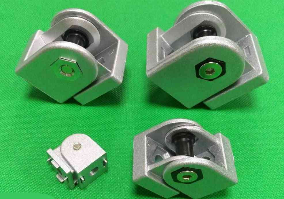 Zinc Alloy, Right Angle, Flexible Pivot Joint Connector