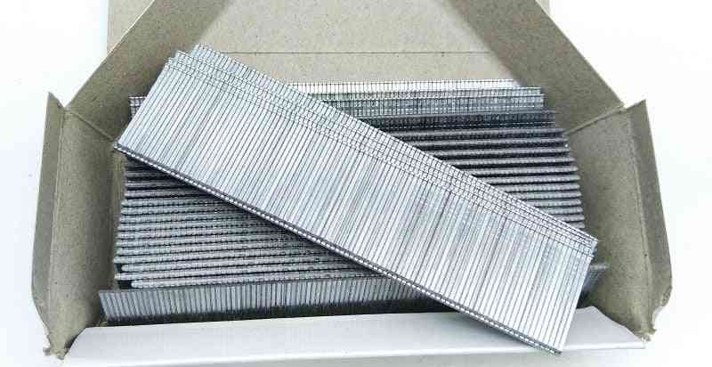 1100pcs F30 Gun Nails - Stainless Steel For Electric Straight Staples