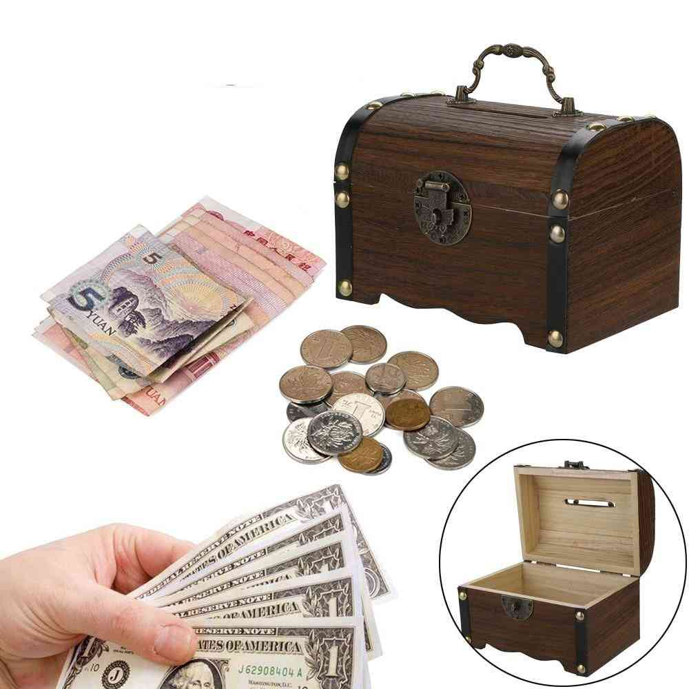 Piggy Bank - Electronic Digital Lcd Counting Coin Money Saving Box