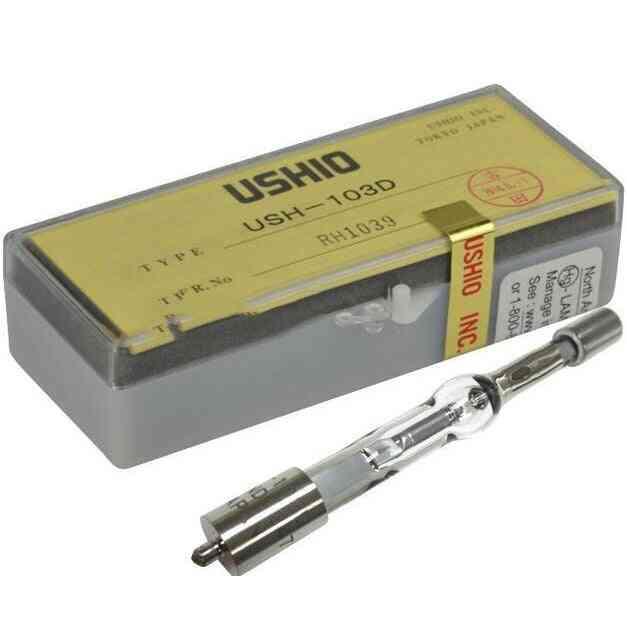 Ushio Ush-102d Mercury Short Arc 100w Lamp - Fluorescence Microscope, Olympus 8-b192 Illuminator Lighting