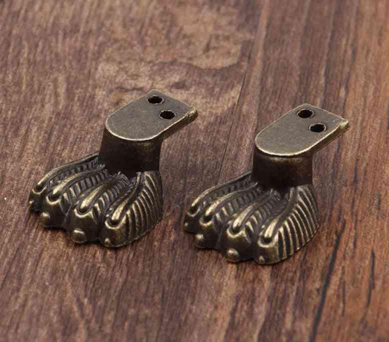 30*12mm, Of Zinc Alloy Lizards Legs Shaped -corner Brackets