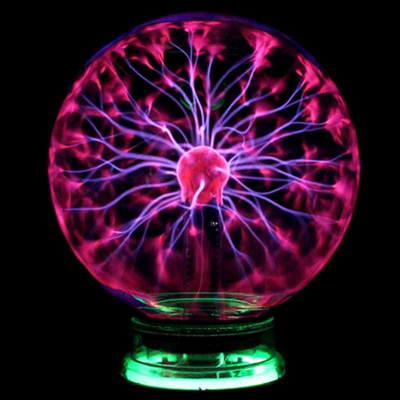 Novelty Glass Magic Plasma Ball Light, Night Lamp For Kids