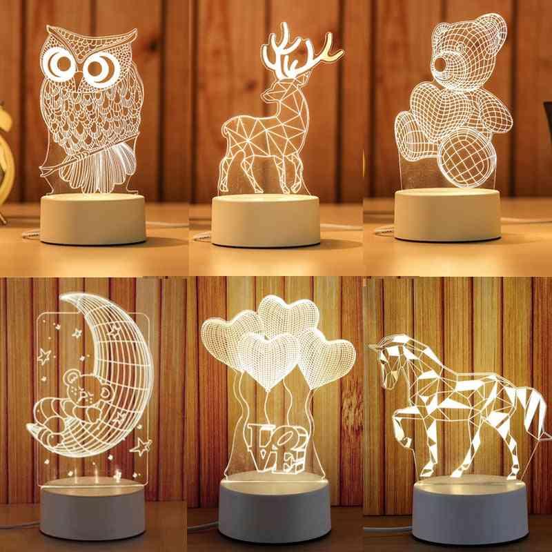 Cartoon Novelty Light, Led Lamp For Kids