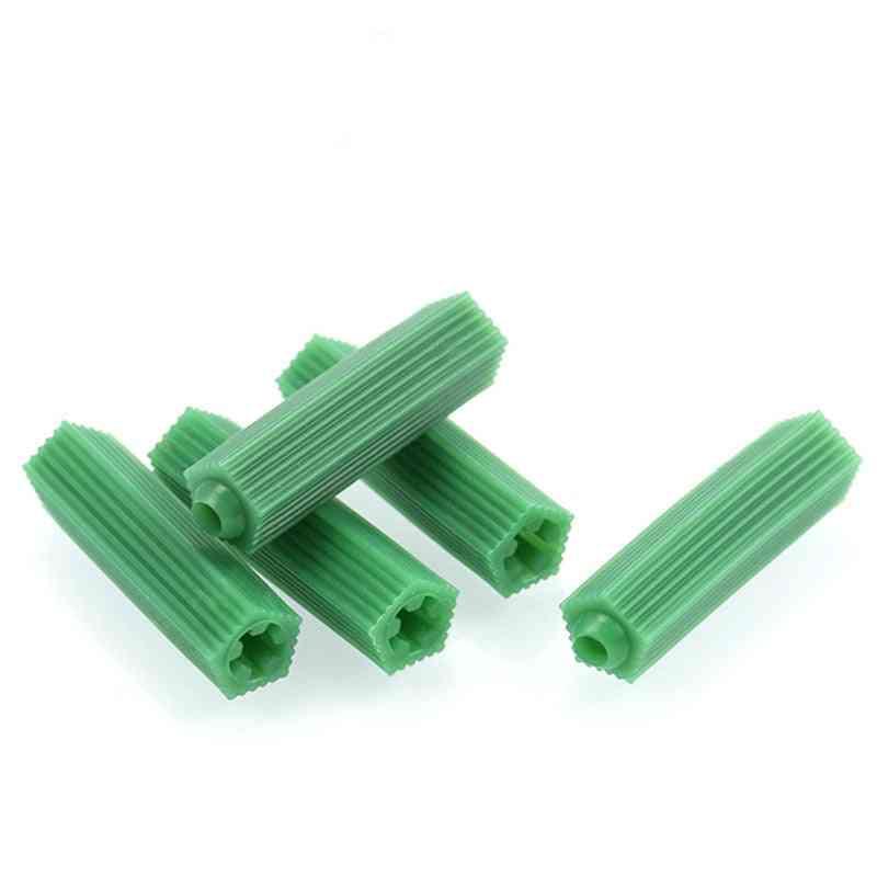 Green Masonry Screw- Fixing Wall Anchor Expansion Tube