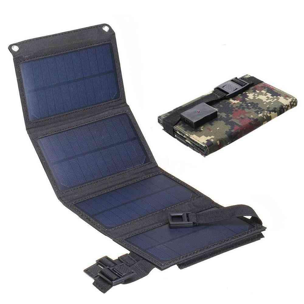 Usb Portable Folding Waterproof Solar Panel