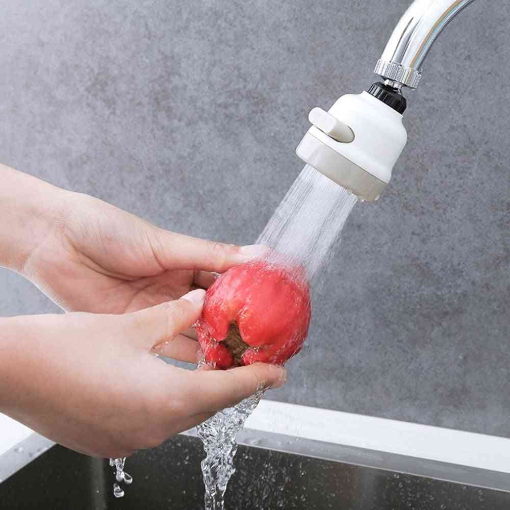360 Degree Swivel 3 Modes Faucet Sprayer Bubbler - Water Saving Head Tap