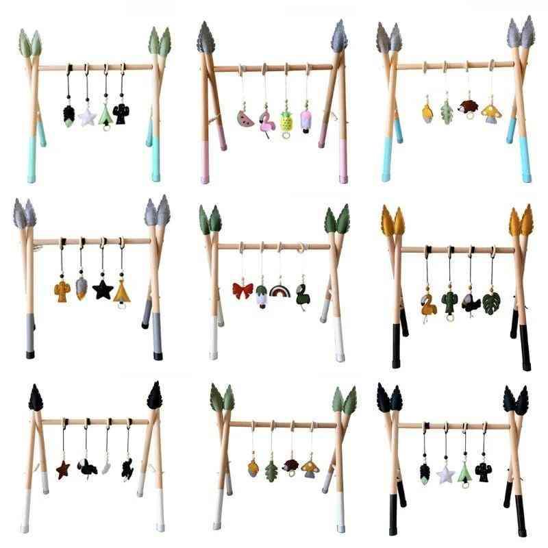 Baby Gym Play Nursery Sensory Ring-pull Toy