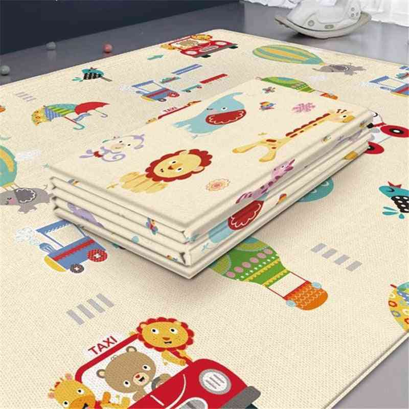 Foldable Baby Play Mat Thickened Tapete Infantil Home Baby Room Decor - Play Puzzle Mat Xpe Thickness