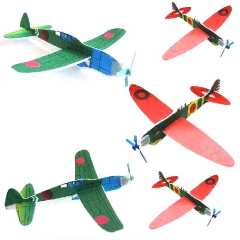 Aircraft Flying Glider Toy Planes, Airplane Made Of Foam