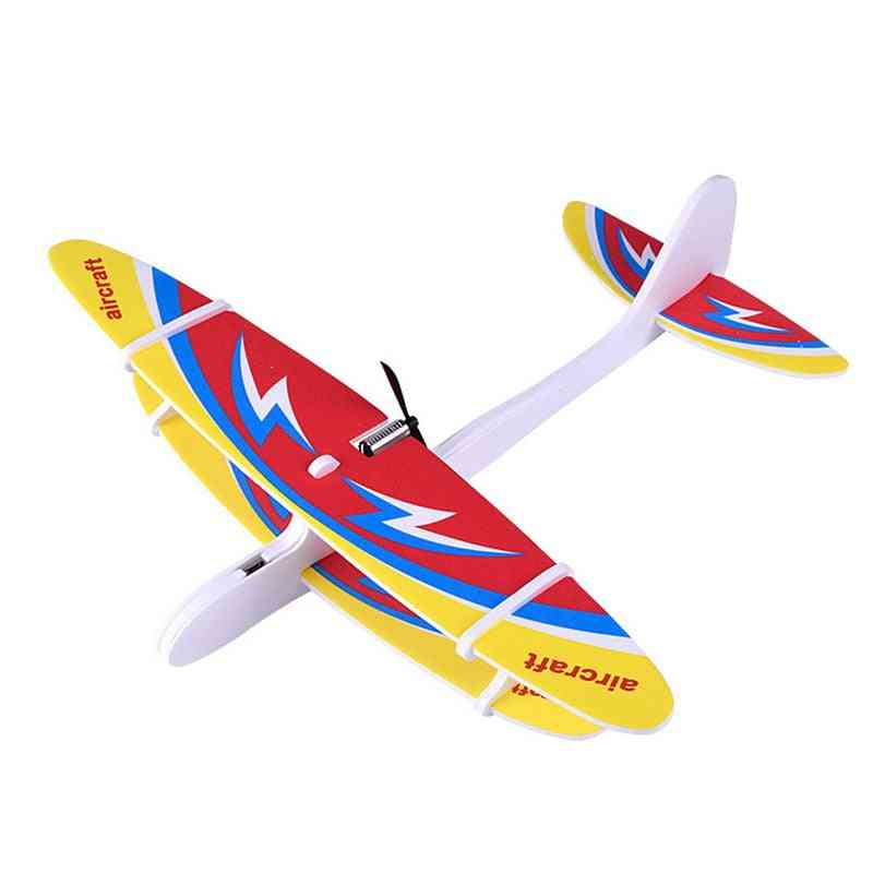 Electric Hand Throwing Glider Plane Toy For