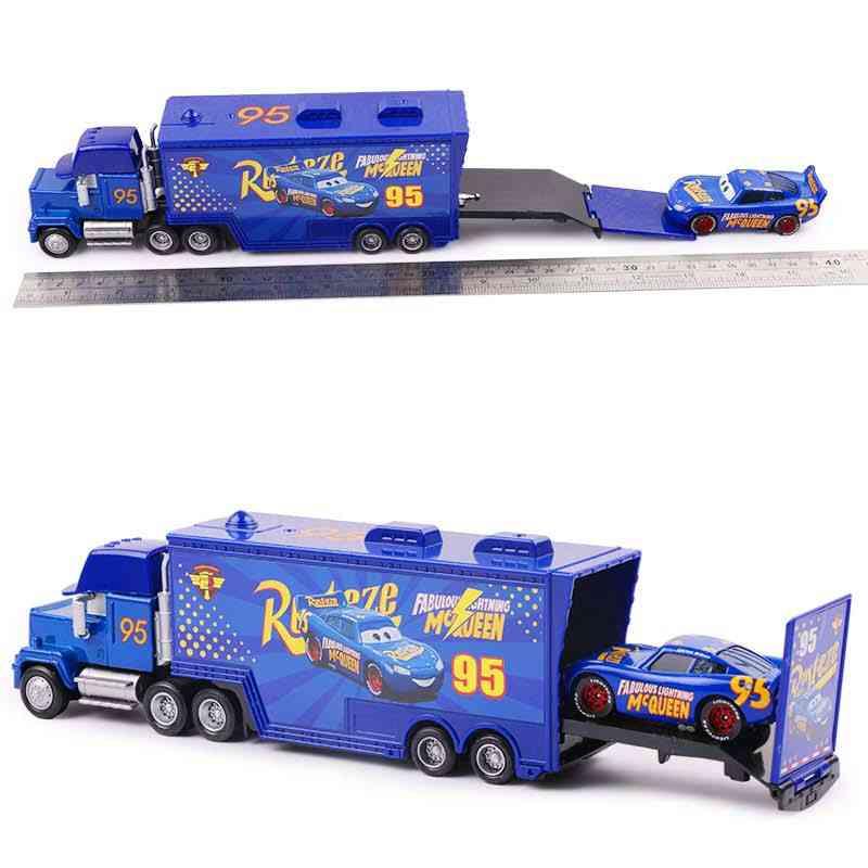 Disney Pixar Cars 2 3, Lightning Mcqueen Jackson Storm Mack Uncle Truck