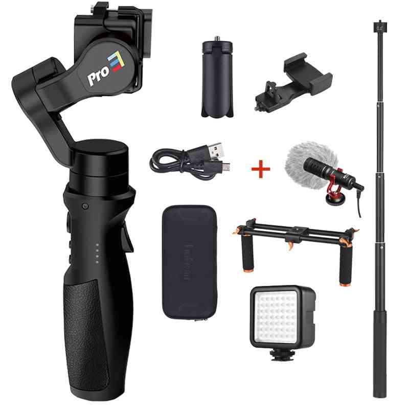 3-axis Handheld, Gimbal Stabilizer For Gopro Hero Action Camera