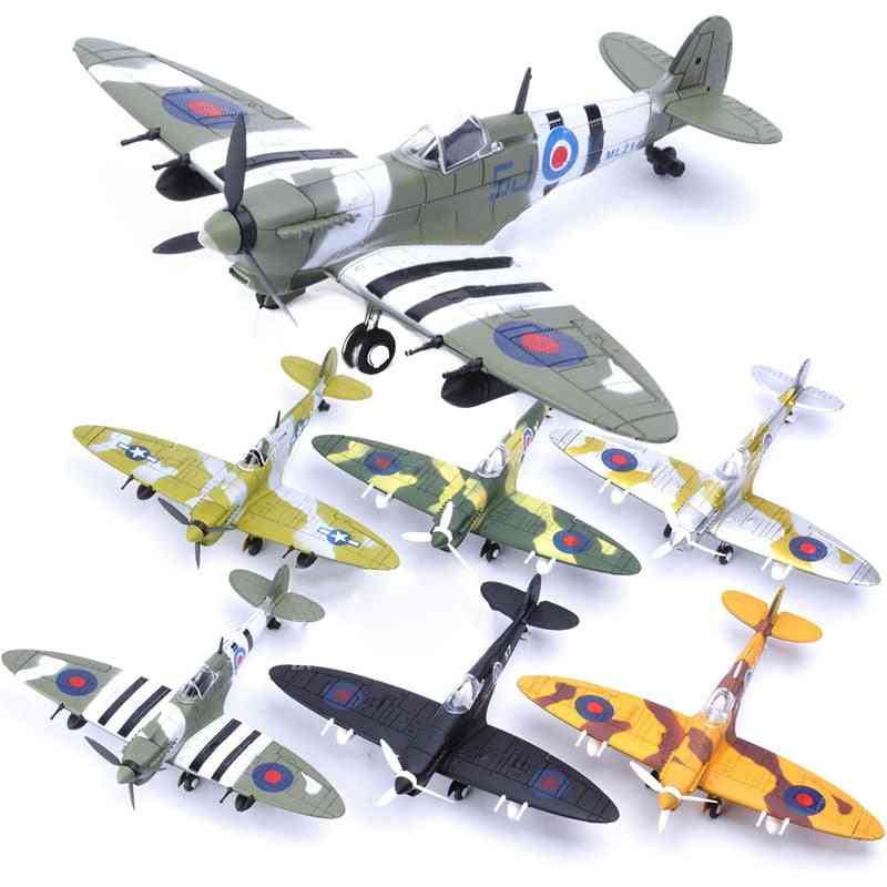 4d Diy, Fighter Assemble Blocks- Building Military Airplane