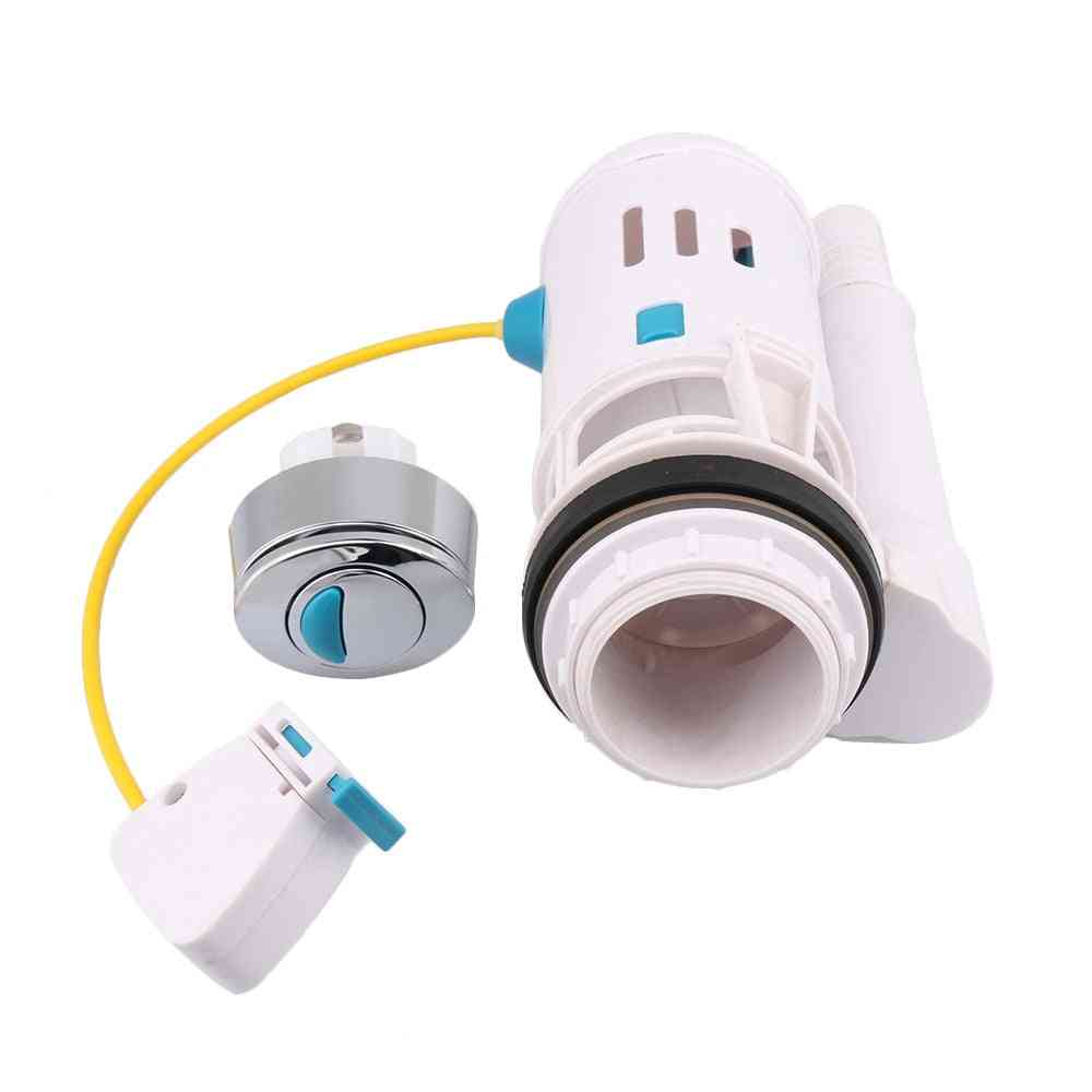 60-75mm Toilet Cistern Wc Water Saving, Push Button Dual Flush Valve