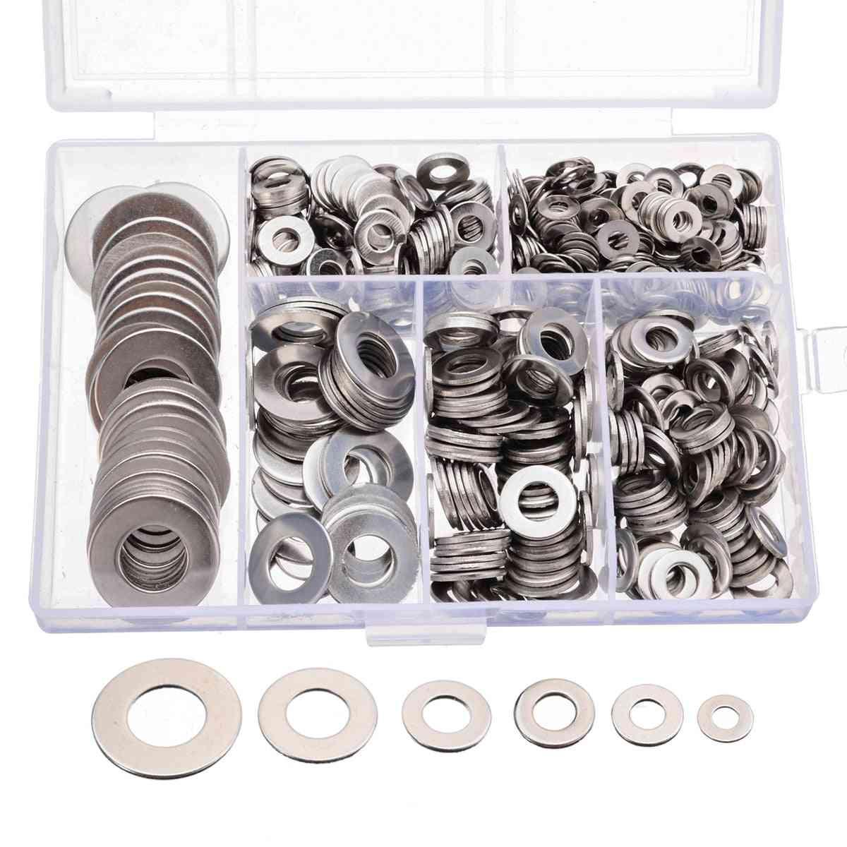 660pcs Of Stainless Steel Plain Washer Kit