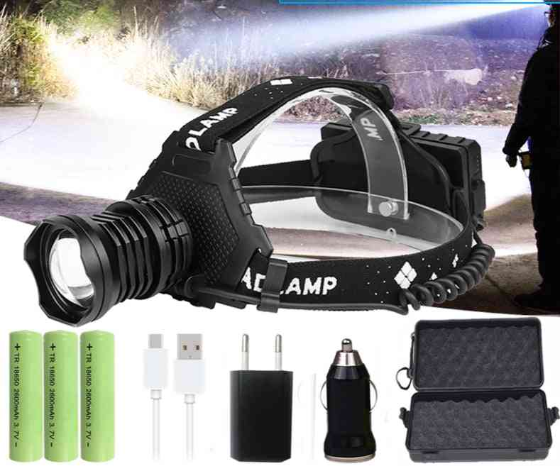 Xhp90.2 Led Headlamp -  Fishing Light