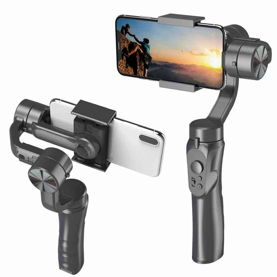 Handheld H4 3 Axis Anti-shake Smartphone Stabilizer For Cellphone/action Camera