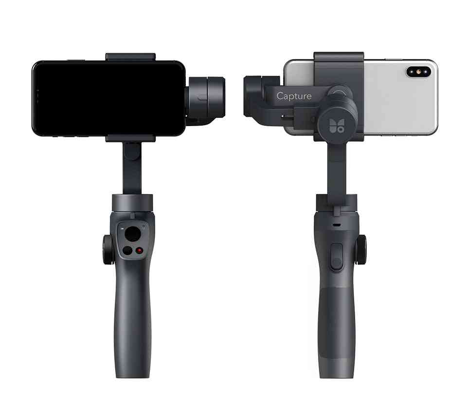 Handheld Gimbal Stabilizer Track Focus Pull & Zoom For Smartphone