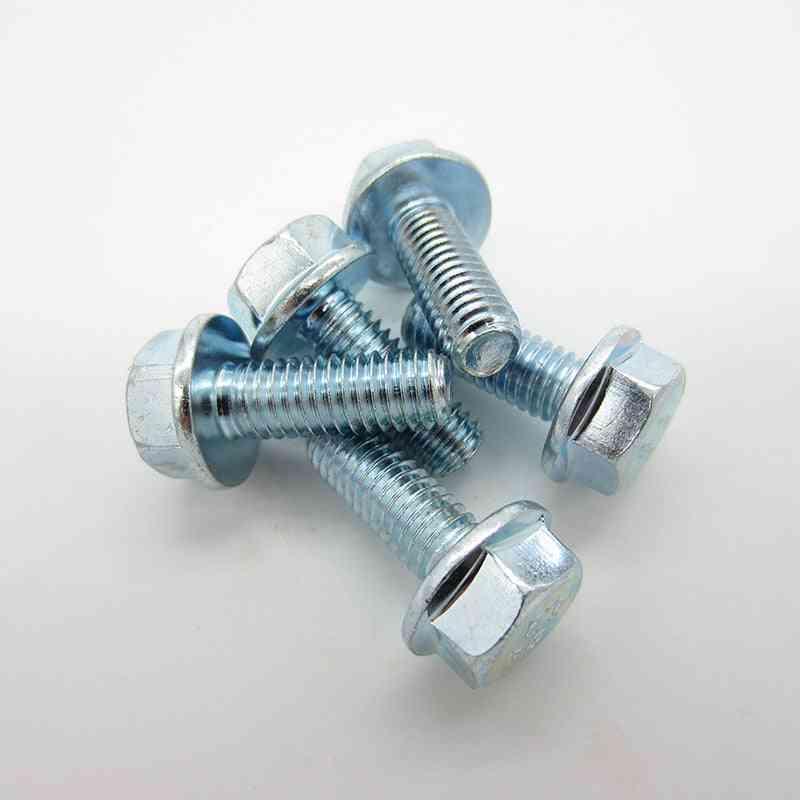 Grade 8.8 Galvanized Hexagonal Flange Bolts Screws