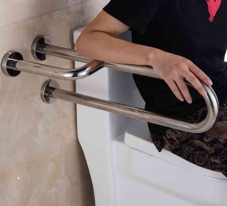 Sully House 304 Stainless Steel Bathroom Toilet Safety Rails