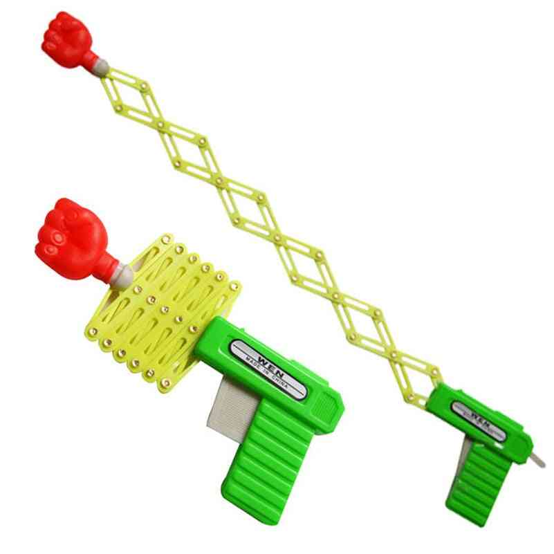Classic Elastic Telescopic Fist Toy Gun Fors