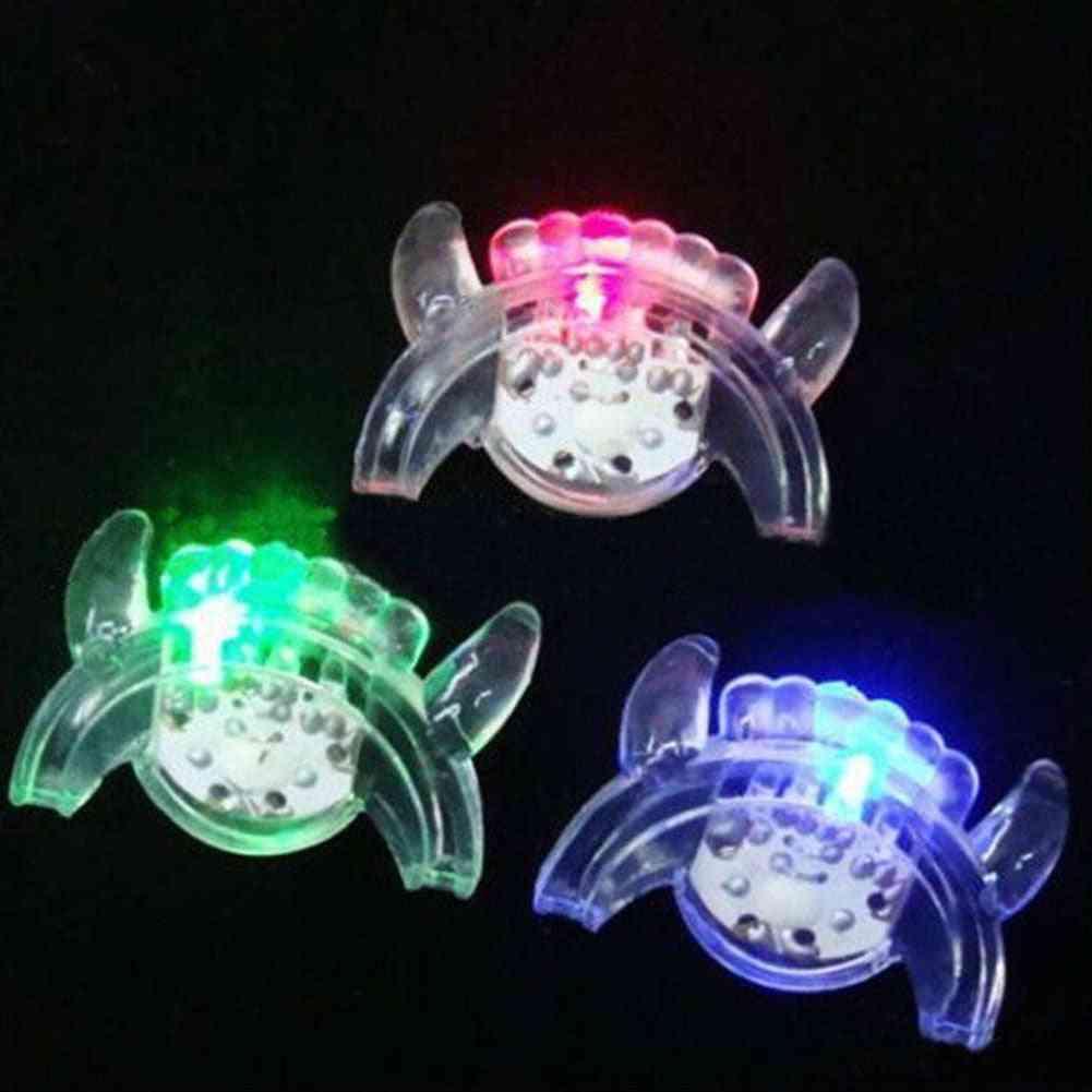 Halloween Trick / Treat Led Light Up Flashing Mouth Piece Glow Teeth