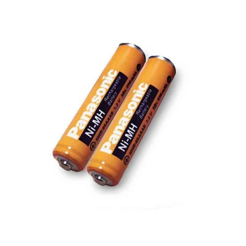 Original Aaa 1.2v 630mah, Rechargeable Ni-mh Battery Charging