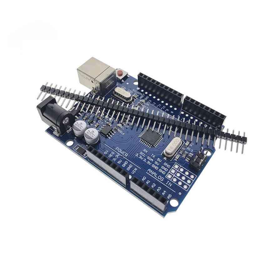 One Set Uno R3 Development Board, Atmega328p, Ch340, Ch340g