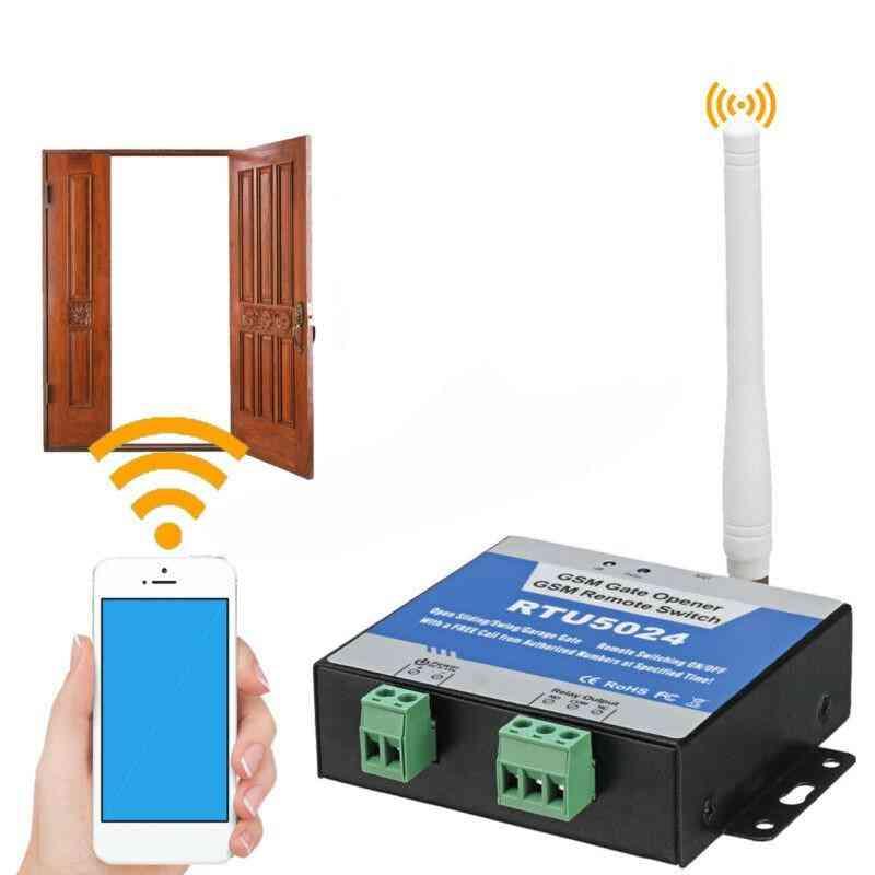 Programmable Wireless Rtu5024 Gsm Remote Control Gate Opener