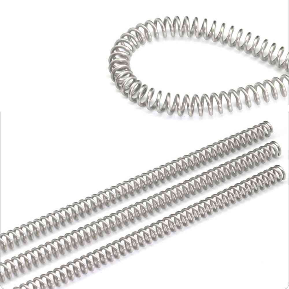 3pcs Of 304 Stainless Steel Y-type Long Compression Spring Wire